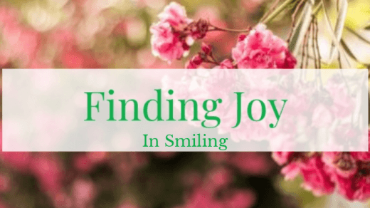 Finding Joy, smiling