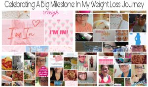 Weight Loss Milestone: Collage of Love Sweat Fitness Challenges