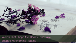 Morning Routine books