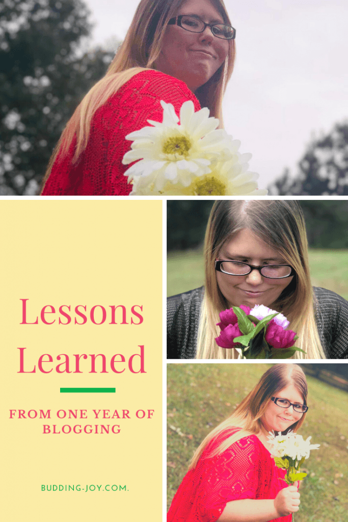 Blogging lessons flower photos