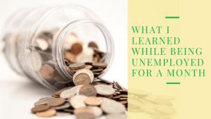 Unemployment Lessons: