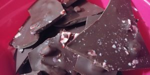 Healthy Peppermint bark