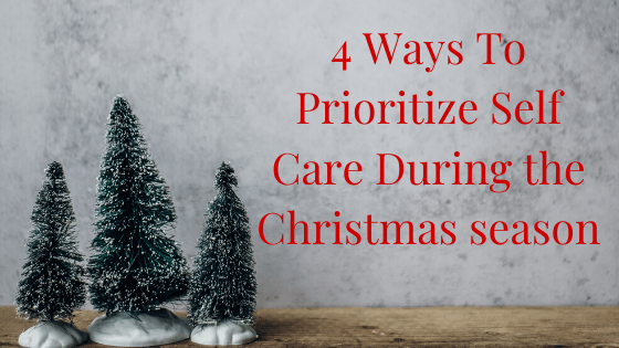 self-care & Christmas