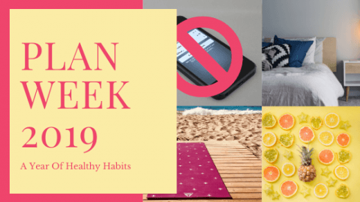 Healthy habits: no phone, sleep, exercise and healthy eating