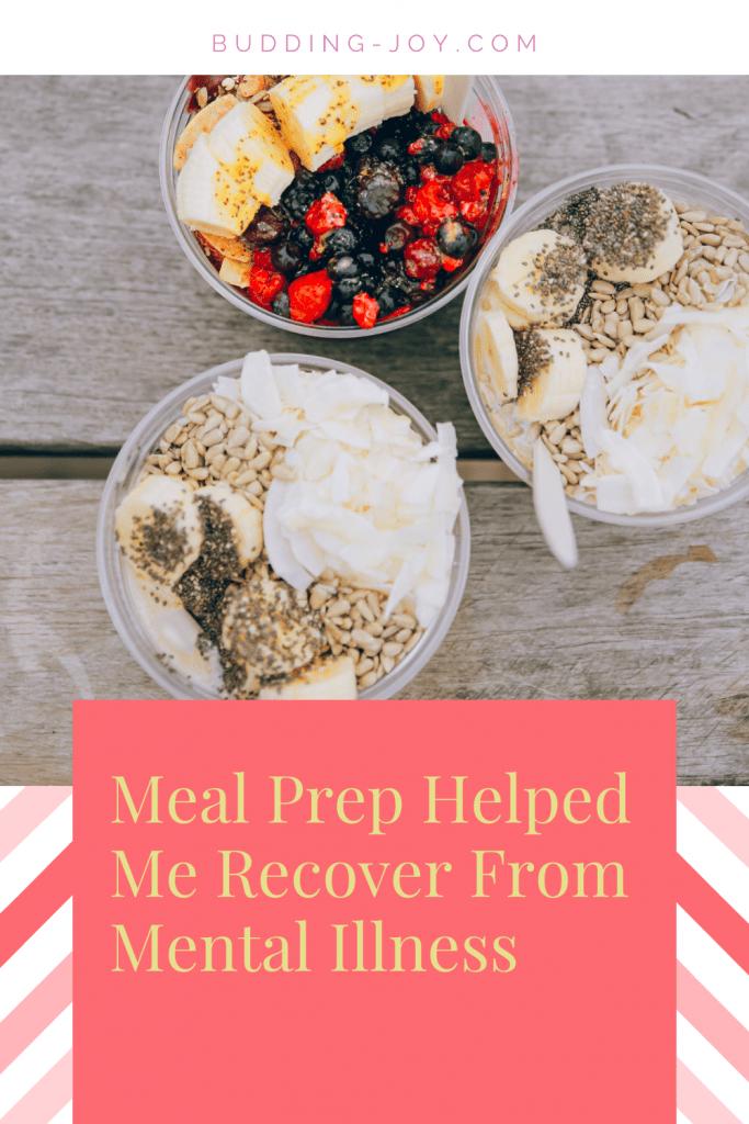 meal plan & mental illness