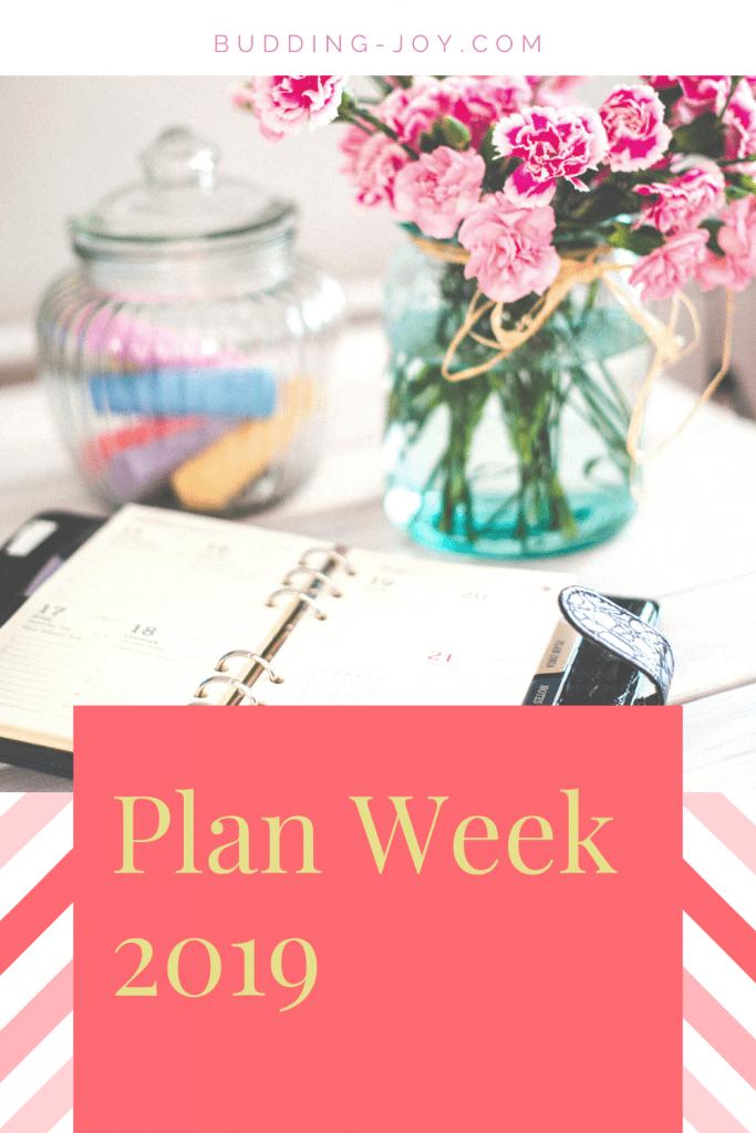 Plan Week 2019