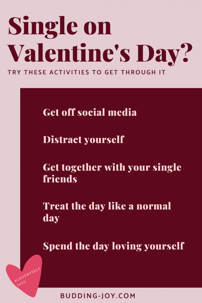 single on Valentine's day tips