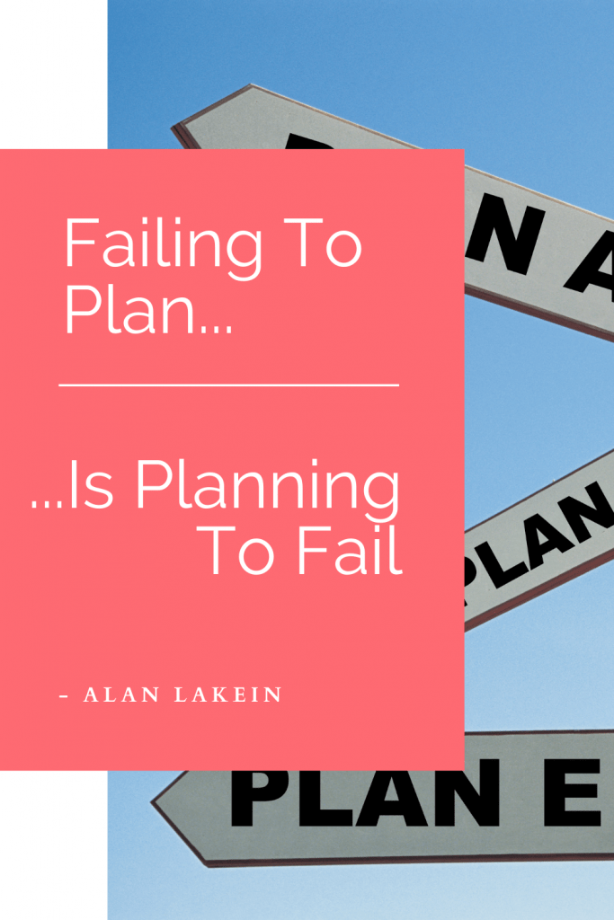 Plan Week Quote