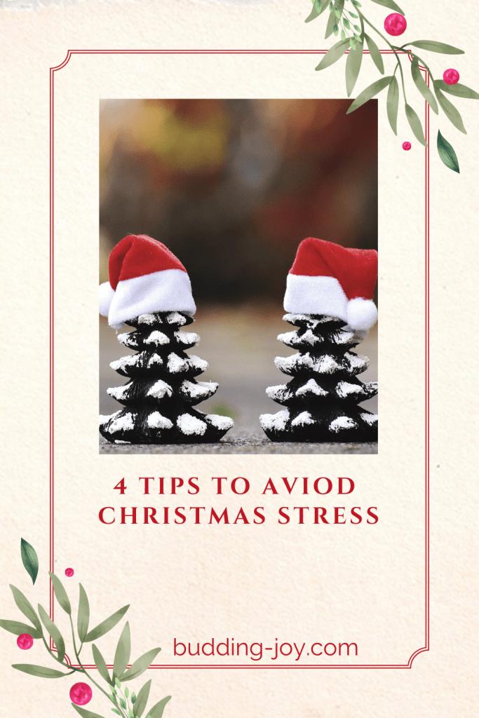 4 Tips To Aviod Christmas Stress