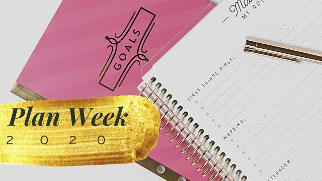 plan week