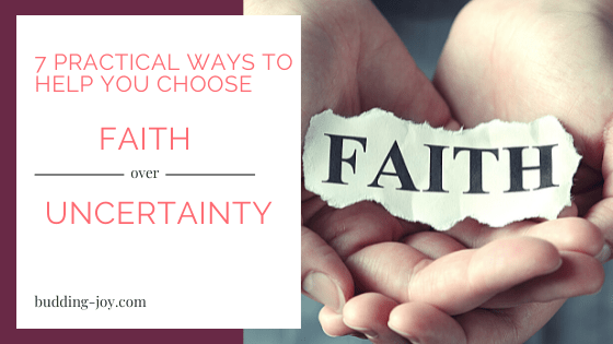 Faith over Uncertainty