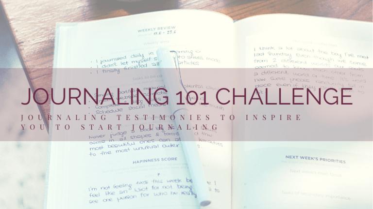 journaling testimonies