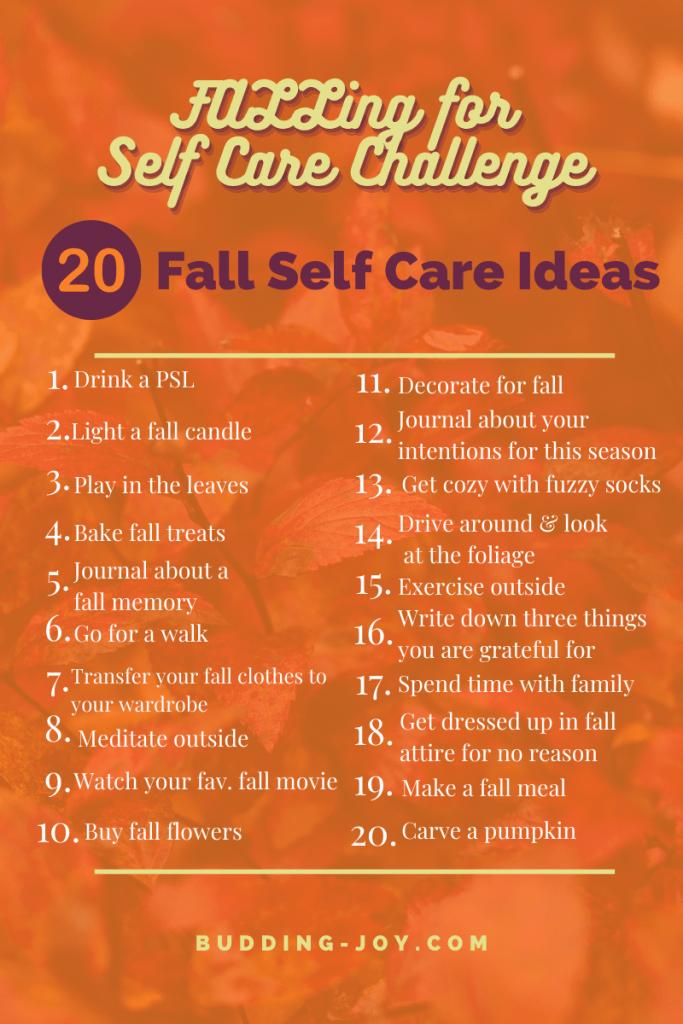 fall self care